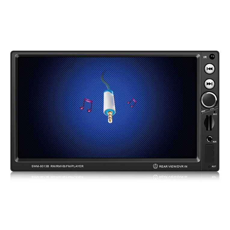 SWM-8013B 7-Inch Large Display Screen Car DVD Vehicle Audio Video Player